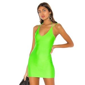 Superdown Brandi Halter Tie Dress